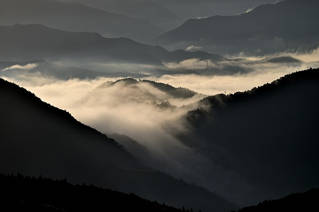 Sea Of Clouds, Mountain, Natural, Landscape, Cloud
