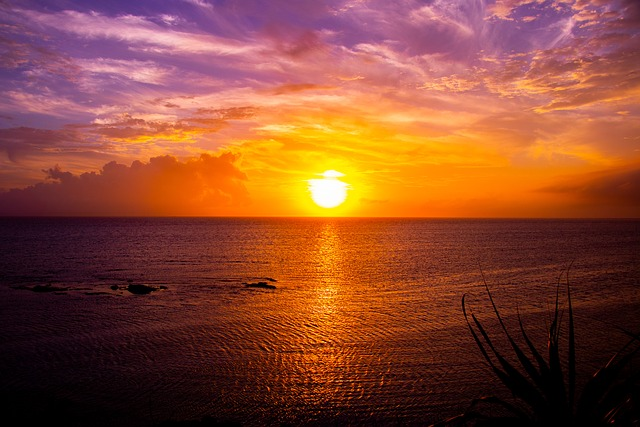 Japan, Sunset, Landscape, Sea, Sunset In Japan Japan