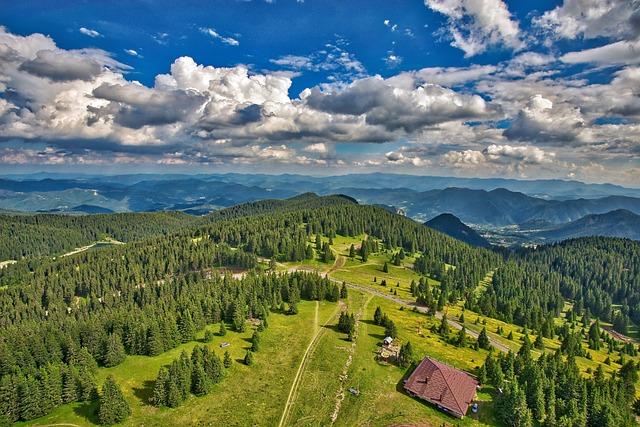 Scenic, Mountain, Landscape, Blue, Nature, Sky, Outdoor