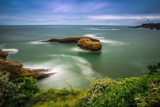 Body Of Water, Nature, Side, Landscape, Sea, Sky, Roche