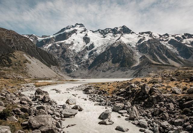 Mountain, Landscape, Nature, Snow, Sky