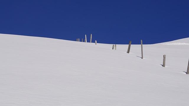 Sky, Snow, Winter, Hill, Schönwetter, Landscape
