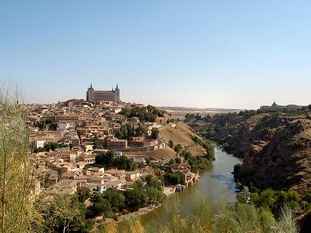 Landscape, Europe, Spain, Nature Landscape, River