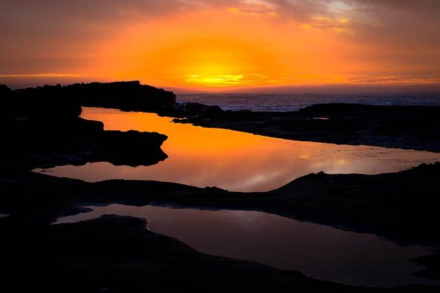 Colors, Sunset, Landscape, Nature, Calm, Twilight