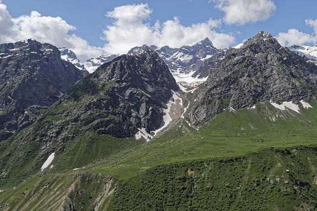 Tajikistan, Province Of Sughd, Mountains, Landscape
