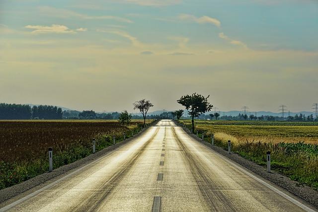 Road, Just, Endless, Asphalt, Transport, Landscape