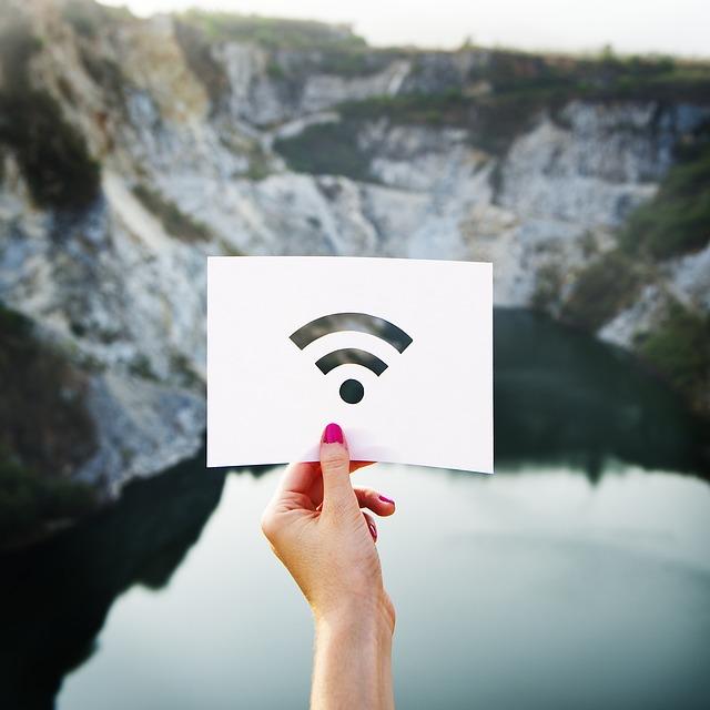 Signal, Travel, Landscape, Stencil, Network, Wireless