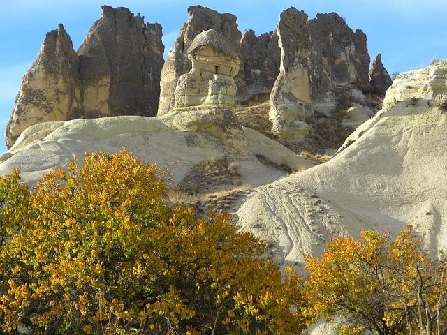 Cappadocia, Tufa, Rock Formations, Turkey, Landscape
