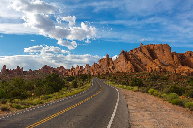 Road, Utah, Park, Usa, Landscape, Travel, Nature