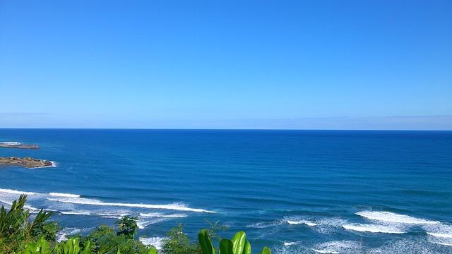 Landscape, The Waves, Taiwan, Blue Day, Hai Bian, Views