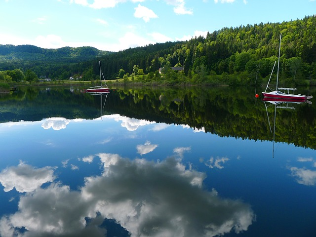 Lake, Landscape, Nature, Water Reflection, Carinthia