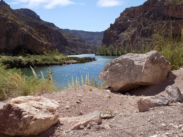 Dam, Nature, Water, Sky, Landscape