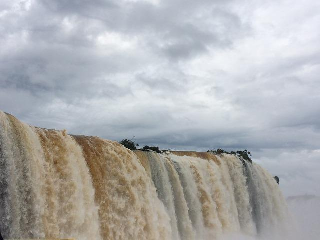 Iguazu, Waterfall, Landscape, Tourism, Brazil