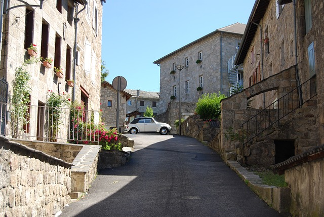 Lane Tence, Village, Haute Loire