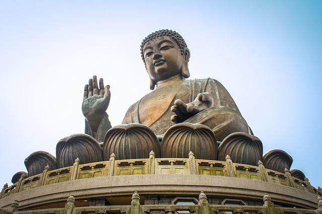 Hong Kong, Lantau Island, Buddha, Religion, Temple