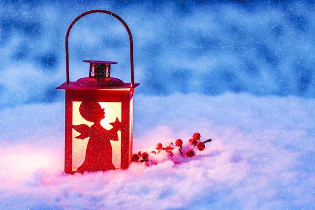 Lantern, Christmas Lantern, Light, Christmas Angel