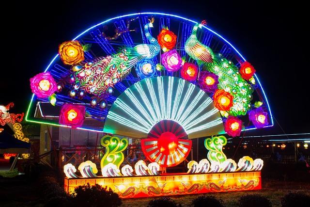 Lantern Festival, Night View