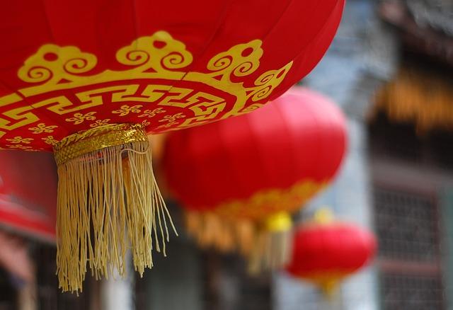 China Red, Lantern, Festive