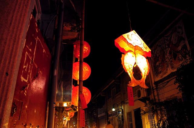 Lantern Festival, Lantern, Flower 燈