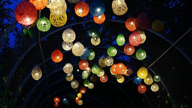 Nami, Nami Country, Lantern, Night View
