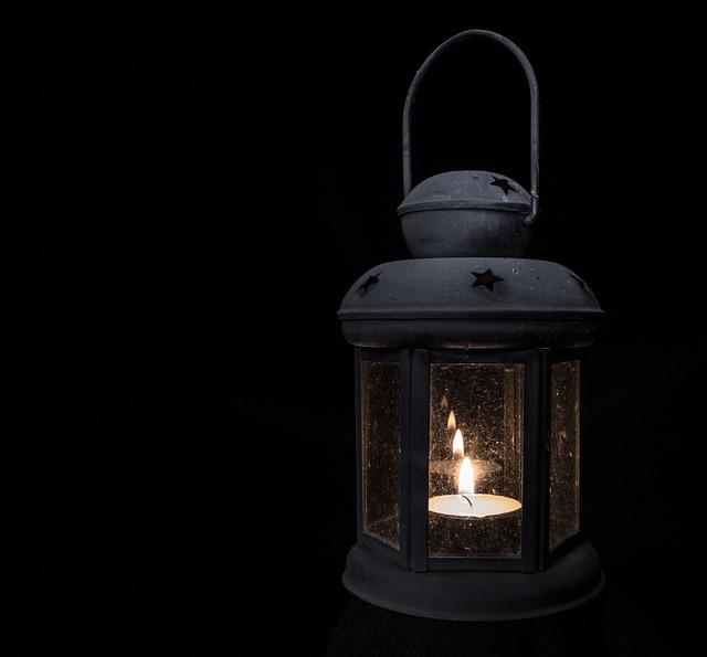 Lamp, Light, Tea Light, Lantern, Antique, Black Light