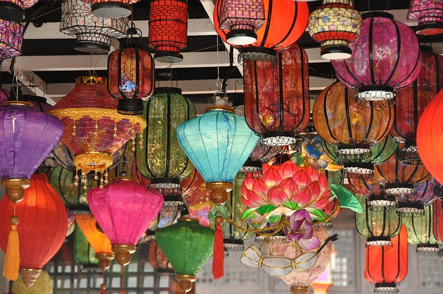 China Wind, Lantern, Tourism