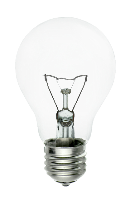 Light Bulb, Isolated, Transparent, Light, Lantern