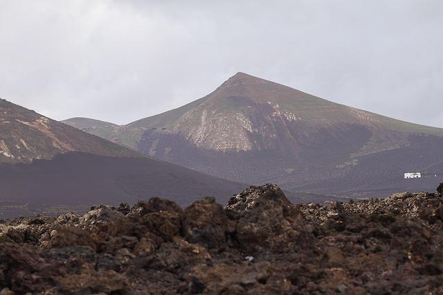 Volcano, Lanzarote, Canary Islands