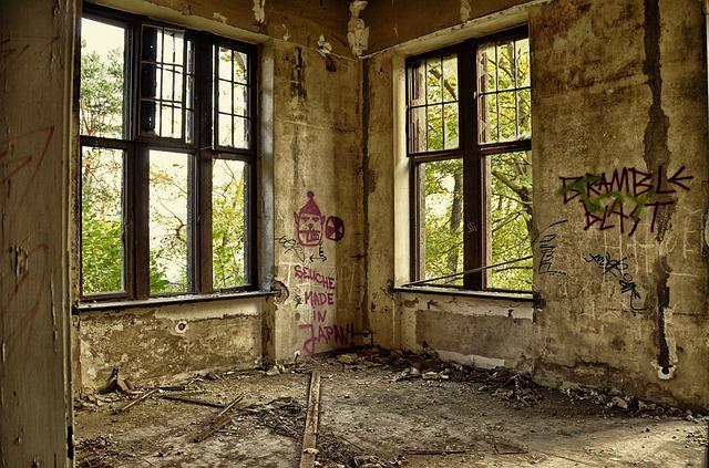 Ruin, Villa, Lapsed, Decay, Home, Old, Leave