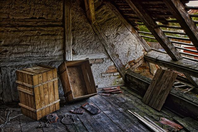 Roof, Decay, Ruin, Lumber, Lapsed, Dilapidated