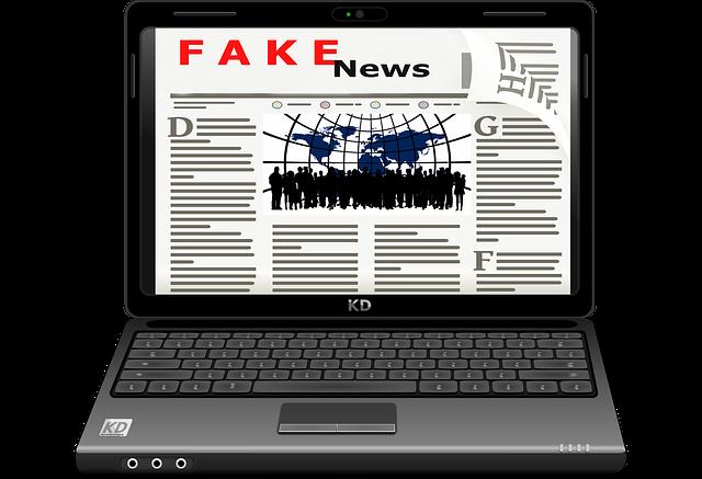 Fake, Fake News, Media, Laptop, Internet, Computer