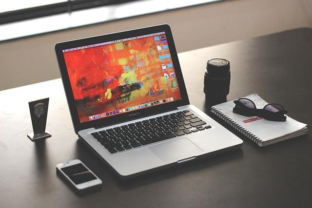Laptop, Mockup, Business, Office, Iphone, Macbook Pro