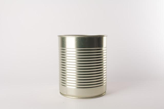 Can, Aluminum, Corned, Large
