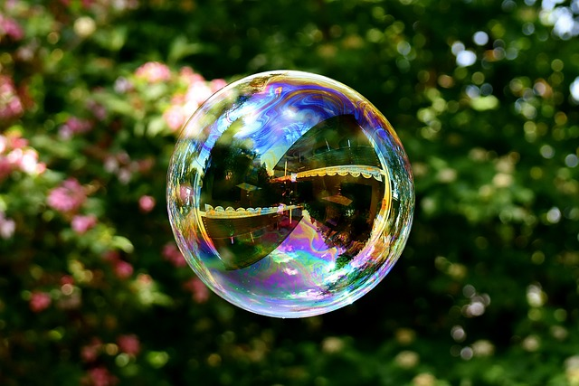 Soap Bubble, Large, Make Soap Bubbles, Wabbelig