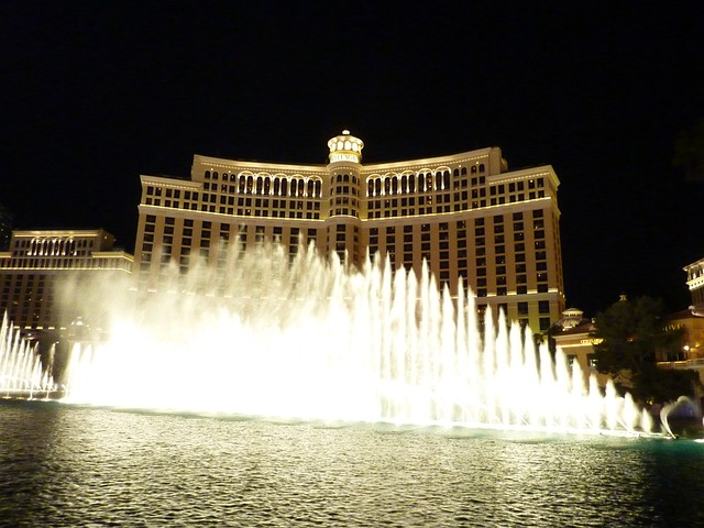 Las Vegas, Bellagio, Fountain, Fountains