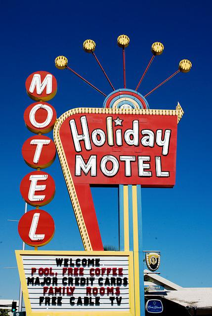 Holiday Motel, Las Vegas, Carol M Highsmith, Nevada