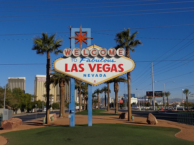 Las Vegas, Sign, Las Vegas Sign, Usa, Welcome Sign
