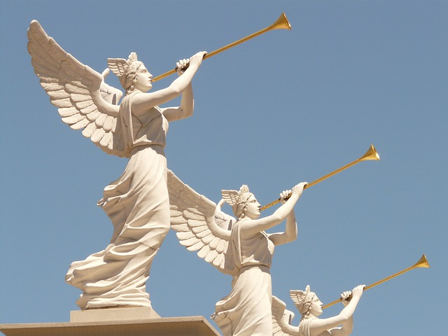 Angel, Wing, Blowers, Golden, Trumpet, Las Vegas