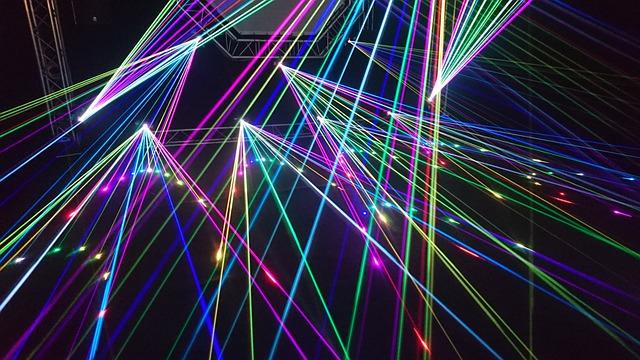 Lightshow, Laser, Music Festival, Laser Show, Music, Dj