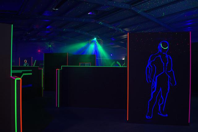 Lasertag, Arena, Hall, Sports Hall, Lasertag Arena