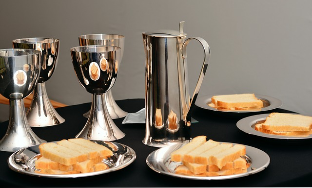 Last Supper, The Bread And Wine, Eucharist Chalice