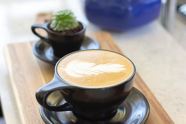 Coffee, Drink, Latte