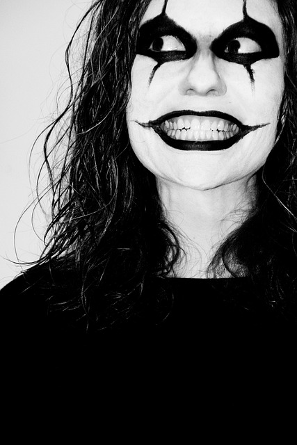 Clown, Mask, Face, Scary, Grinning, Makeup, Laughing
