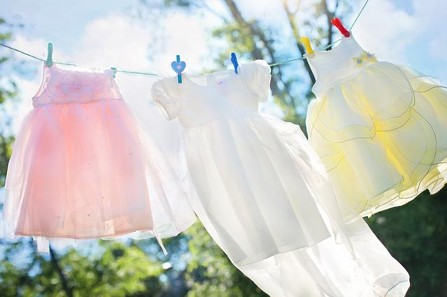 Clothesline, Little Girl Dresses, Laundry, Hang