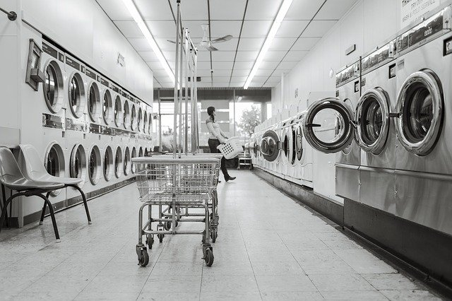 Laundry Saloon, Laundry, Washing Machines, Clean, Wash