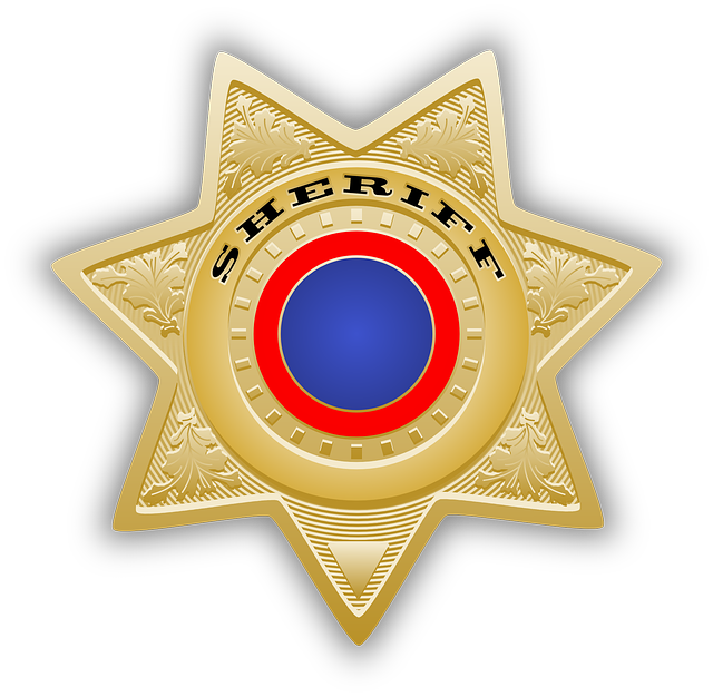 Sheriff's Star, Sheriff, Star, Chief, Law, Police
