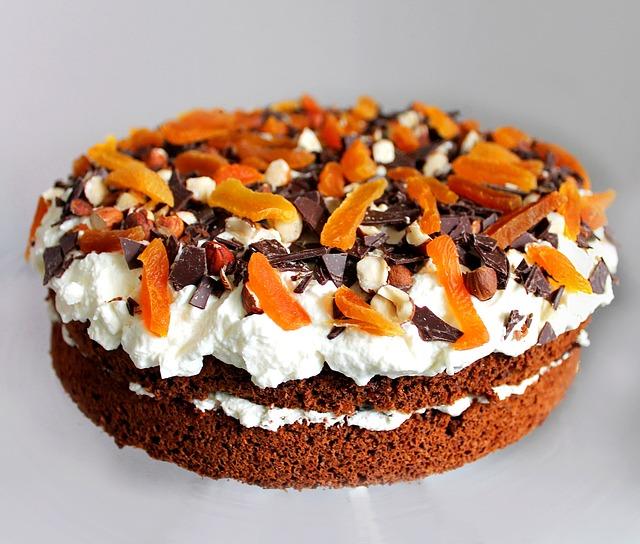 Layer Cake, Rye Bread Pie, Dessert, Cake, Food