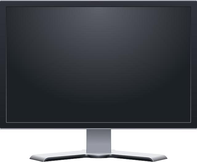 Monitor, Screen, Flat, Lcd, Black, Lightweight, Tv