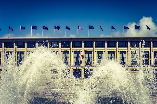 Hotel De Ville, Le Havre, Normandy, Architecture