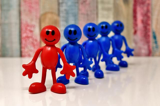 Smilies, Figures, Together, Leader, Members, Funny